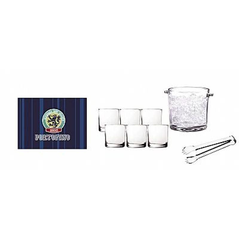 Jogo Copos Happy Hour Portofino 8pçs  - Miix Design