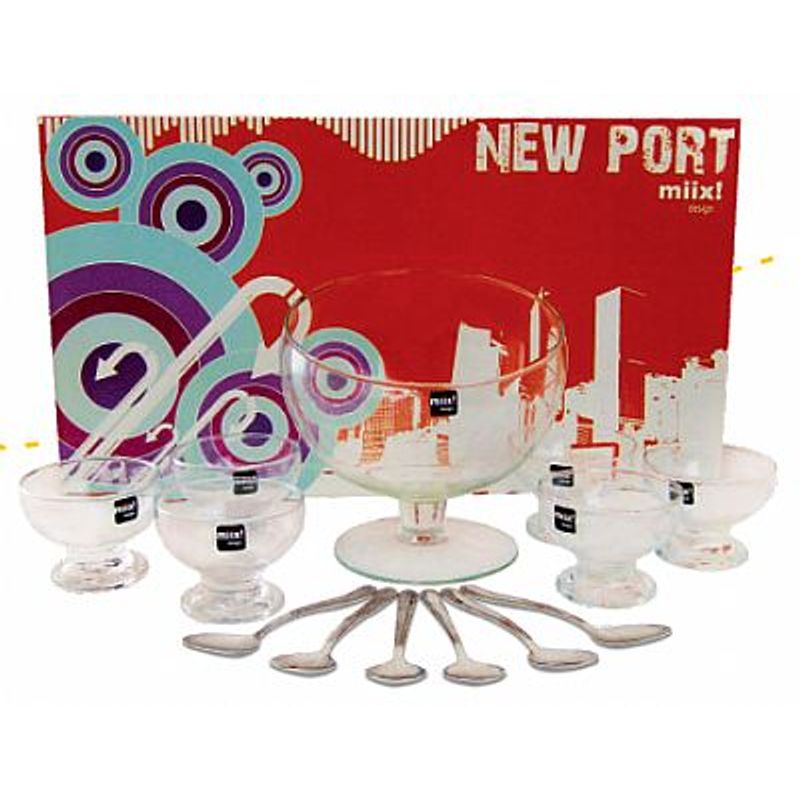 Jogo Sobremesa New Port 13 pçs - Miix Design