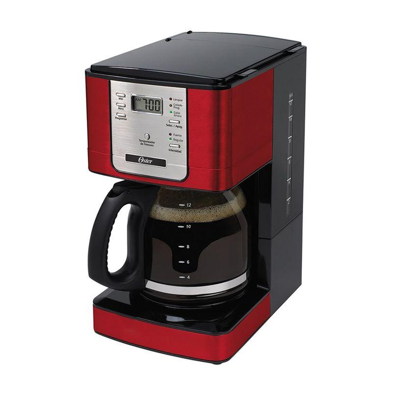 Cafeteira Elétrica Programável Vermelha 12 Xícaras – Oster
