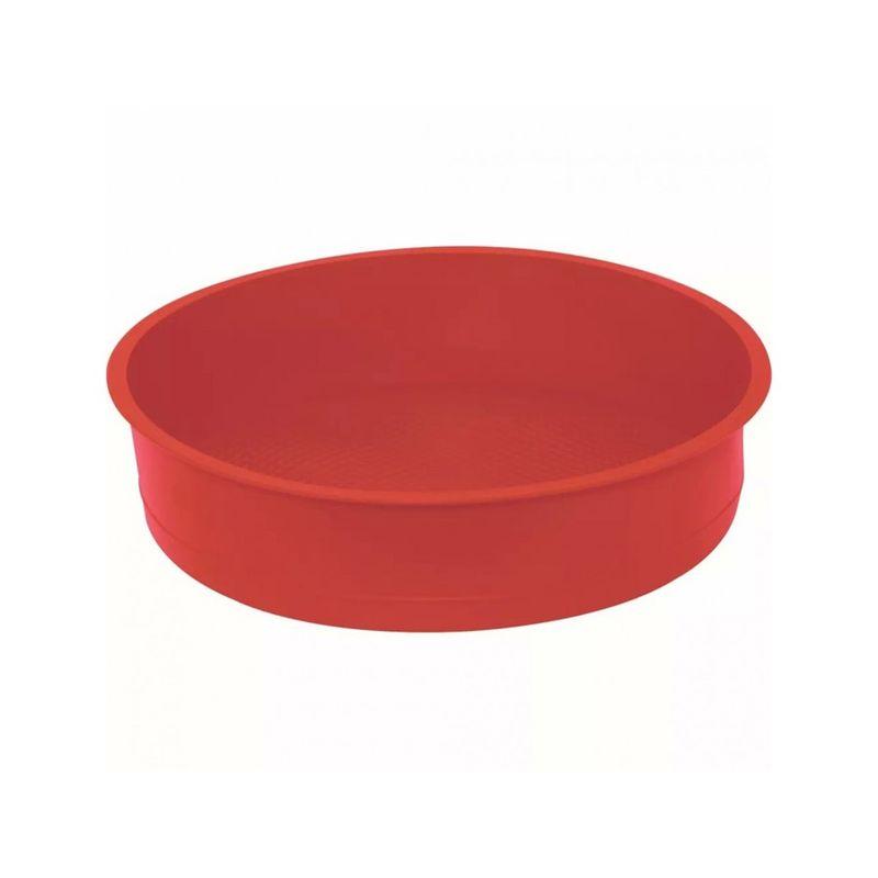 Forma Redonda para Bolo Silicone 25 cm Mimo Style