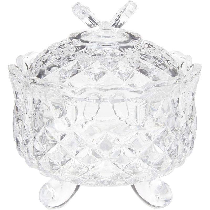 Bomboniere Cristal Com Pé Maia - Lyor